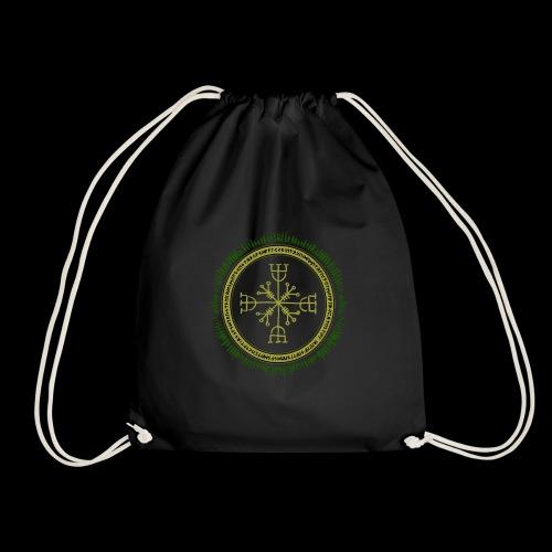 Norse Runes with Aegishjalmur 2017 - Drawstring Bag