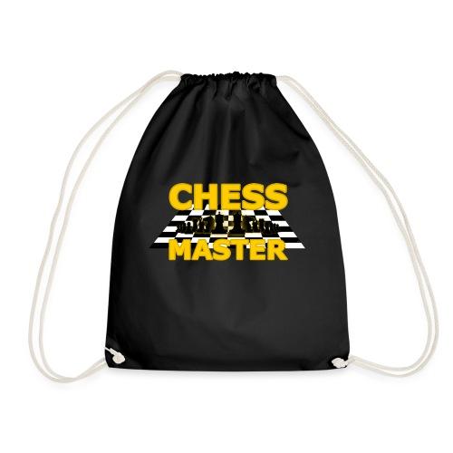 Chess Master - Black Version - By SBDesigns - Drawstring Bag