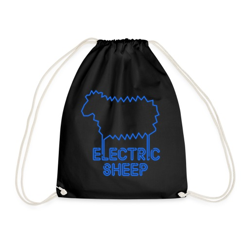 Electric Sheep Emblem - Drawstring Bag
