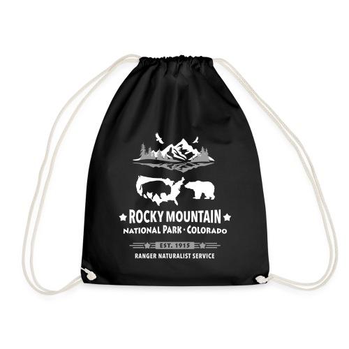 Rocky Mountain Nationalpark Berg Bison Grizzly Bär - Drawstring Bag