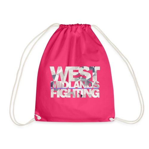 WMF low poly light - Drawstring Bag