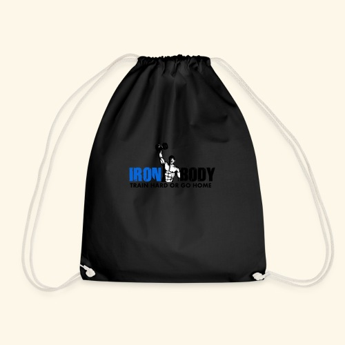 Iron Body Train Hard - Drawstring Bag