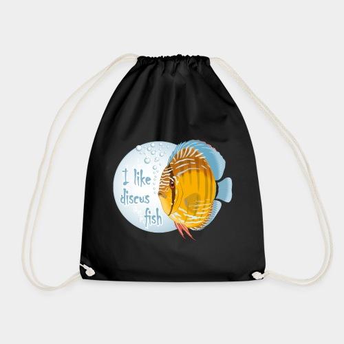 GHB Ich liebe Diskusfische 06112017 1 - Turnbeutel