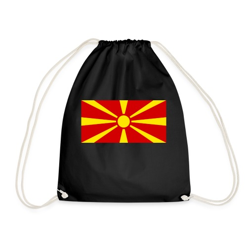 Macedonia Flag - Turnbeutel
