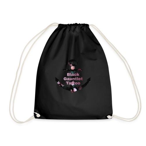 Flower Anchor - Drawstring Bag