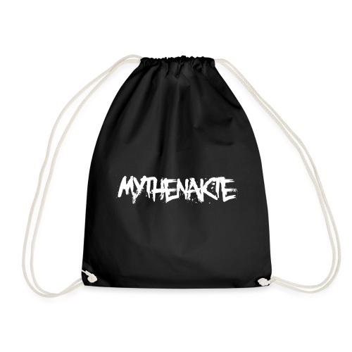 mythenakte weiß - Turnbeutel