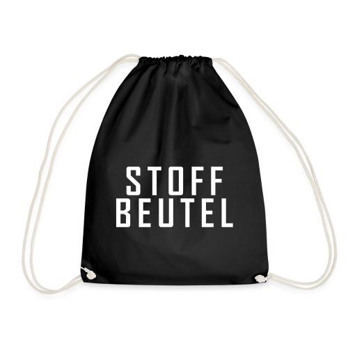 Stoff Beutel Techno - Turnbeutel