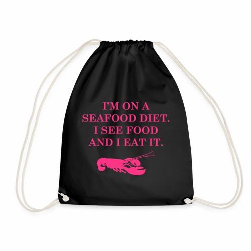 Les régimes avec les fruits de mer - Sac de sport léger