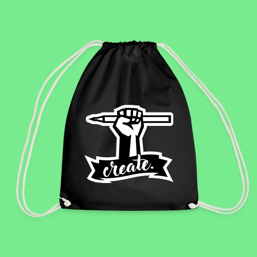 Create. - Drawstring Bag