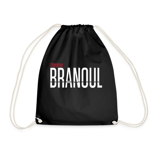 Branoul Logo rood wit - Gymtas