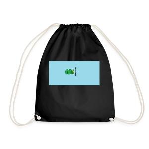 Men's T-Shirt with Turtle Design - Drawstring Bag
