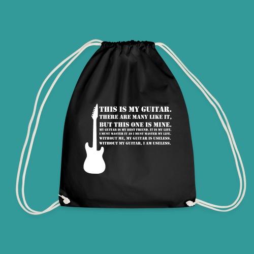 This is My Guitar - Drawstring Bag