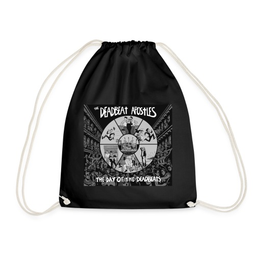 The Day Of The Deadbeats - Drawstring Bag