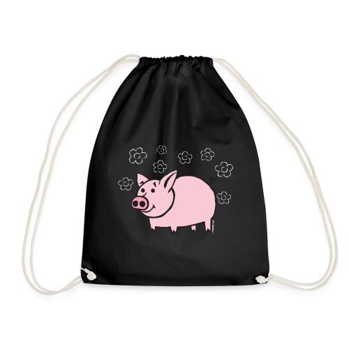 10-1B FUN PIGGY - HAUSKA POSSU Textiles and Gifts - Jumppakassi