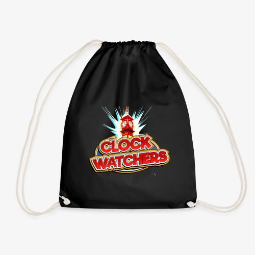 The Clockwatchers logo - Drawstring Bag