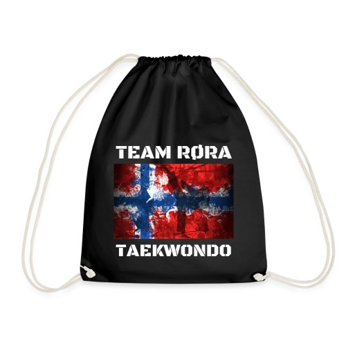 TEAM RØRA White png - Gymbag