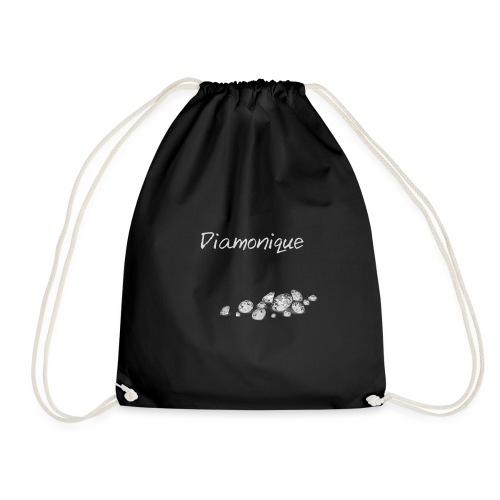 diamonique Clothing - Drawstring Bag