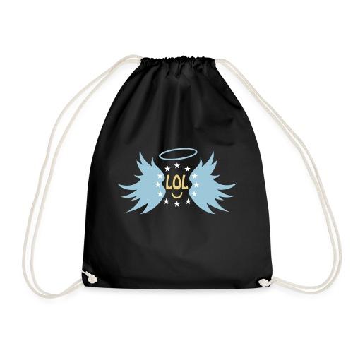 Tablier de cuisine : LOL avec aile ange - Drawstring Bag