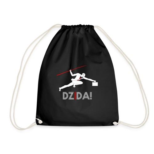 Dzida_wzor_bialy - Worek gimnastyczny