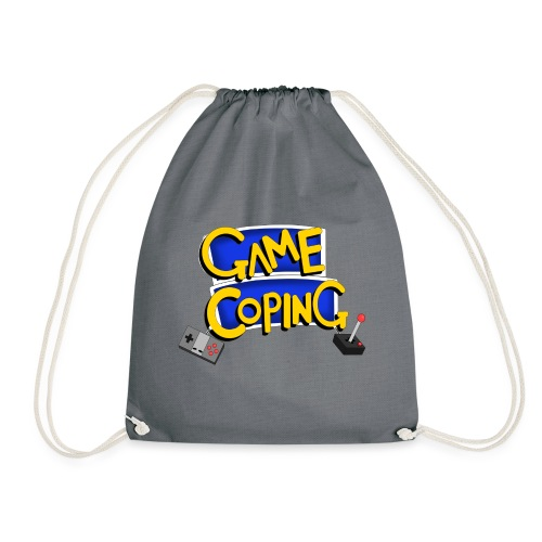 Game Coping Logo - Drawstring Bag