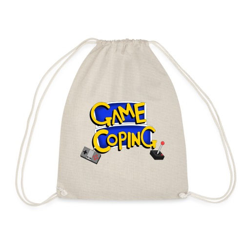 Game Coping Logo - Drawstring Bag