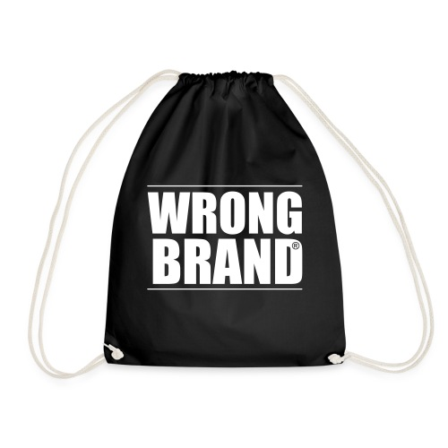 Wrong Brand: the ultimate brand parody - Drawstring Bag