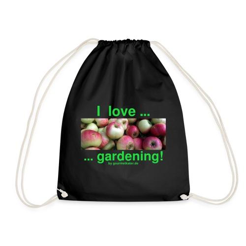 Äpfel - I love gardening! - Turnbeutel