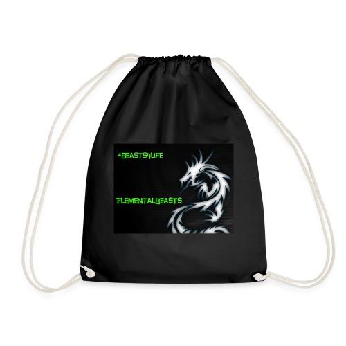 ElementalDragonYT merchandise - Drawstring Bag