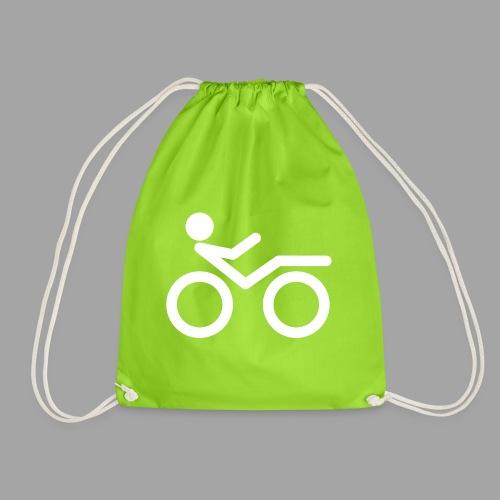 Recumbent bike white 2 - Jumppakassi