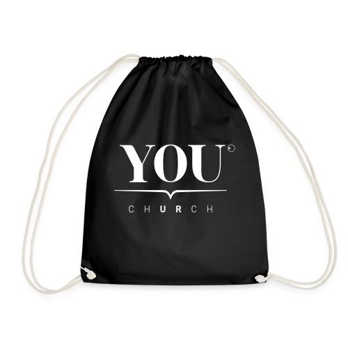 YOU Church (weiss) - Turnbeutel