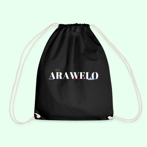 The ARAWELO Collection Gold Crown - Drawstring Bag