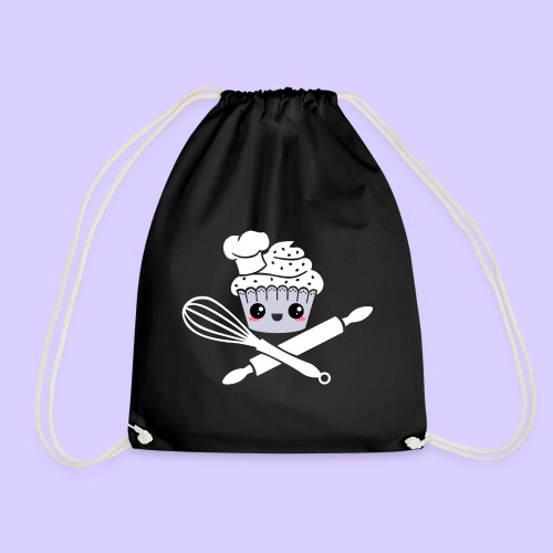 The Pirate Baker - Drawstring Bag