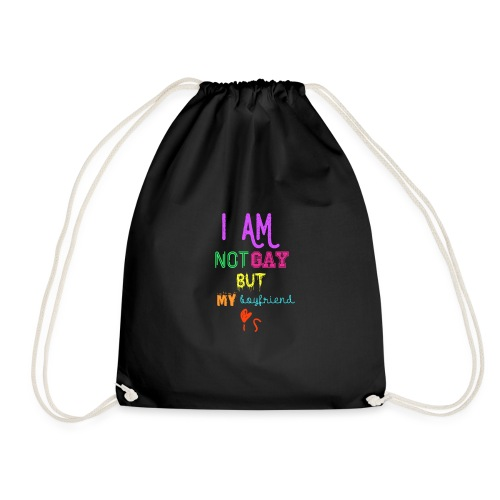 I Am Not Gay But My Boyfriend Is - Mochila saco