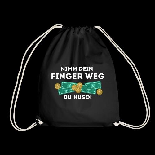 Nimm dein Finger weg du Huso! - Turnbeutel