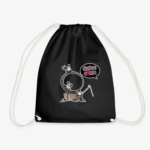 Cuky mascotte sb comix - Sacca sportiva