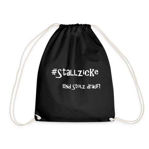 #Stallzicke - und stolz drauf! - Turnbeutel