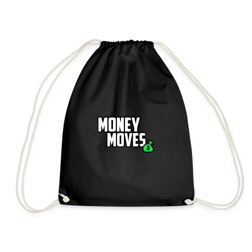 MONEY MOVES - Drawstring Bag