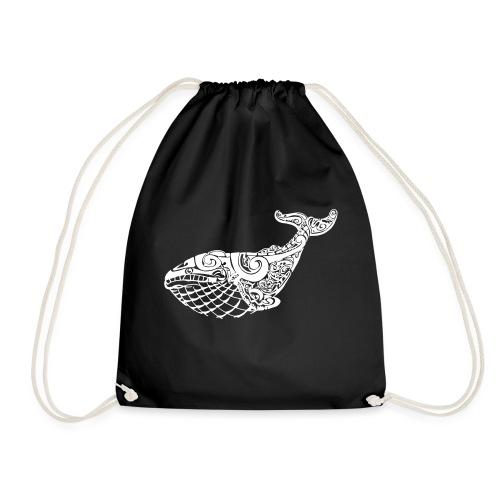 The Blue Whale - Drawstring Bag