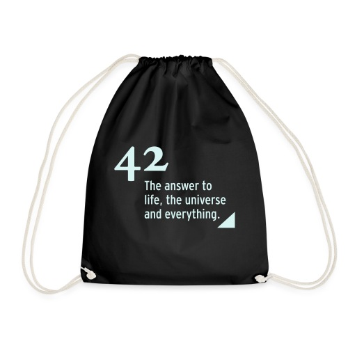 42 - the answer to life, the universe & everything - Turnbeutel