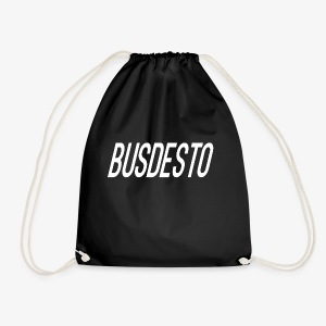 Busdesto plain shirt apparel - Drawstring Bag