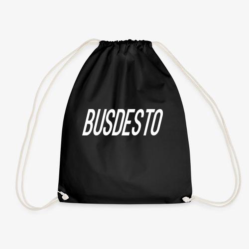 Busdesto plain shirt apparel - Drawstring Bag