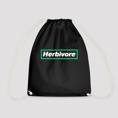 Herbivore Logo White - Sacca sportiva