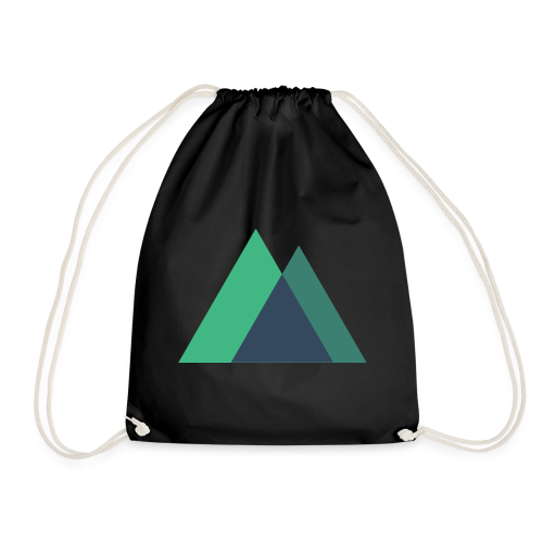 Mountain Logo - Drawstring Bag