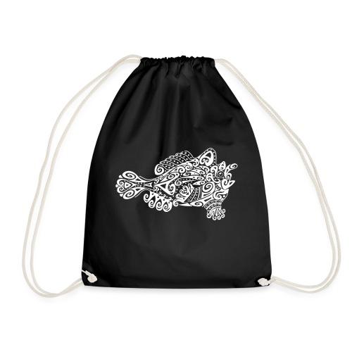 Little cute frogfish - Drawstring Bag