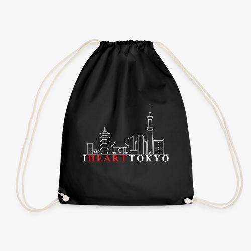 I HEART TOKYO Ver.2 - Drawstring Bag
