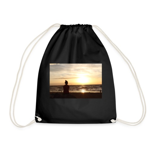 sun set - Drawstring Bag