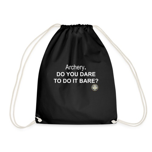 Do you dare to do it bare? - Gymnastikpåse