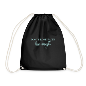 dontlosefaith Collection - Gymbag