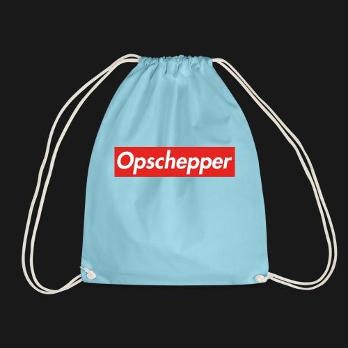 Opschepper Classic (Rood) - Gymtas