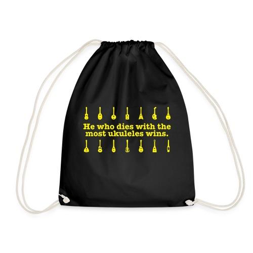 ukulele_wins - Drawstring Bag